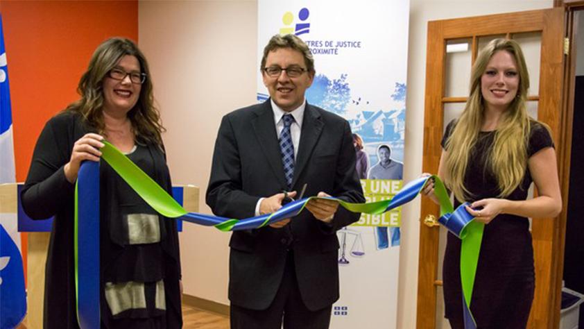 Inauguration du CJPGIM