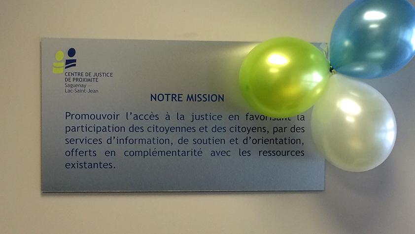 Mission du CJP du Saguenay-Lac-Saint-Jean